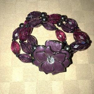 Jewelry - Enamel and Bauble Bracelet
